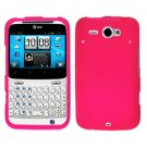 For HTC Status / ChaCha Cover Hard Case Hot Pink