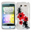 For HTC Status / ChaCha Cover Hard Case R-Lily