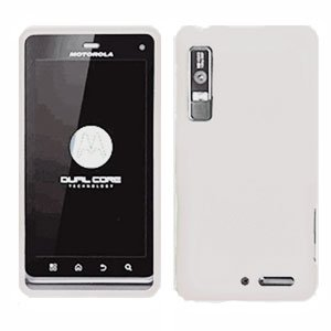 For Motorola Droid 3 XT862 Cover Hard Case White