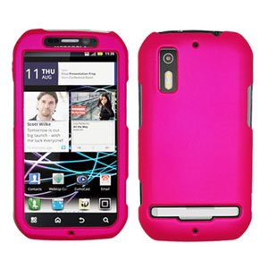 For Motorola Photon 4G/ Electrify MB855 Cover Hard Case Hot Pink