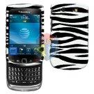 For BlackBerry Torch 9810 4G Cover Hard Case Zebra