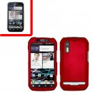 For Motorola Photon 4G/ Electrify MB855 Cover Hard Case Red +Screen 2-in-1