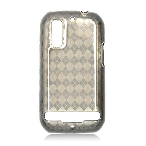 For Motorola Photon 4G MB855 Cover TPU Case D-Smoke