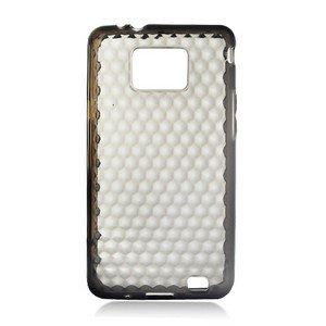 For Samsung Galaxy S II 4G TPU Case H-Clear -Smoke