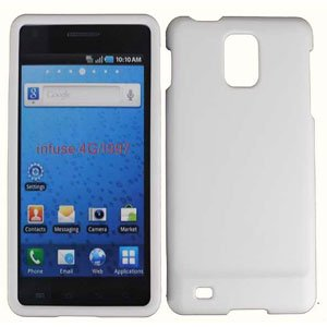 For Samsung Infuse 4G i997 Cover Hard Case White