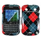 For BlackBerry Bold 9900 4G Cover Hard Case Argyle