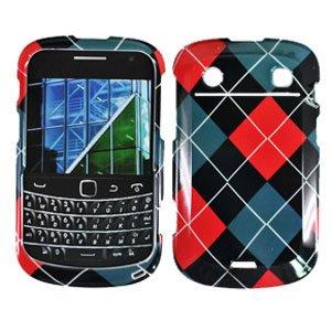 For BlackBerry Bold 9900 4G Cover Hard Case Argyle