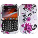 For BlackBerry Bold 9930 9900 4G Cover Hard Case W-Flower