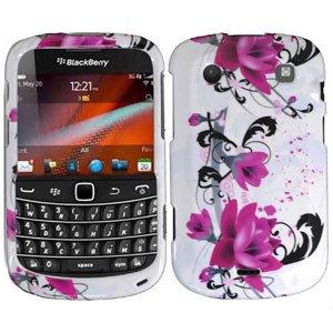 For BlackBerry Bold 9930 9900 4G Cover Hard Case W-Flower