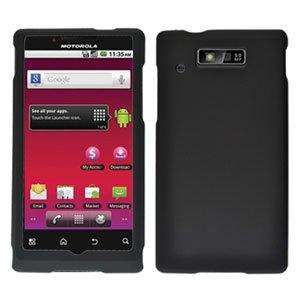 For Motorola Triumph WX435 Cover Hard Case Black