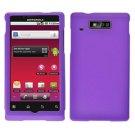 For Motorola Triumph WX435 Cover Hard Case Purple