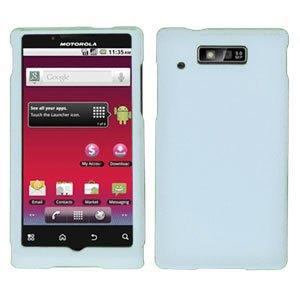 For Motorola Triumph WX435 Cover Hard Case White