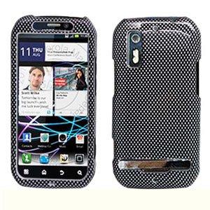 For Motorola Photon 4G / Electrify Cover Hard Case Carbon Fiber