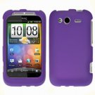 For T-Mobile HTC Wildfire S Cover Hard Case Purple