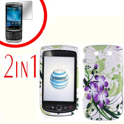 For BlackBerry Torch 9810 4G Cover Hard Case G-LiLy +Screen Protector