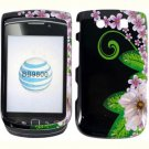 For BlackBerry Torch 9810 4G Cover Hard Case GR-Flower