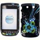 For BlackBerry Torch 9810 4G Cover Hard Case M-Flower