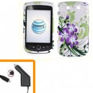 For BlackBerry Torch 9810 4G Car Charger + Cover Hard Case G-LiLy
