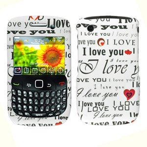 FOR BLACKBERRY CURVE 3G 9300 9330 COVER HARD CASE W-ILU