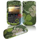 FOR BLACKBERRY CURVE 3G 9300 9330 Cover Hard Case Crystal G-Flower