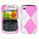 FOR BLACKBERRY CURVE 3G 9300 9330 COVER HARD CASE PK-Plaid
