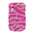 For BlackBerry Bold 9930 9900 4G Cover Hard Case Crystal Bling P-Zebra