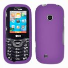 For LG Cosmos 2 VN251 Cover Hard Case Purple