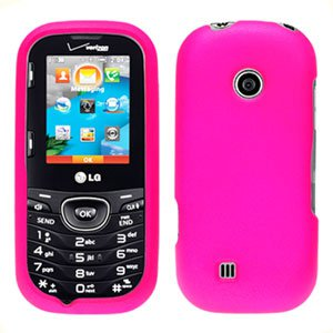 For LG Cosmos 2 VN251 Cover Hard Case H-Pink