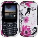 For LG Cosmos 2 VN251 Cover Hard Case W-Flower