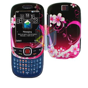 For Samsung Smiley SGH-T359 / Elevate SGH-T356 Cover Hard Case Love