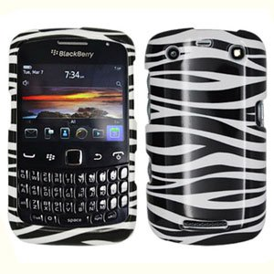 For BlackBerry Curve 9360/ 9370/ 9350 Cover Hard Case Zebra