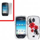 For Samsung Exhibit 4G T759 Cover Hard Case R-LiLy +Screen Protector
