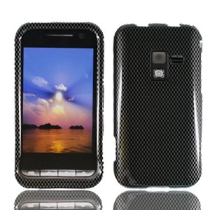 For Samsung Conqure 4G D600 Cover Hard Case Carbon Fiber