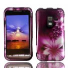 For Samsung Conqure 4G D600 Cover Hard Case L-Flower