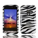 For Samsung Conqure 4G D600 Cover Hard Case Zebra