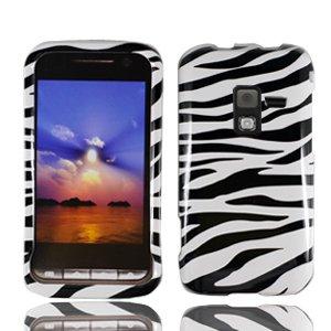 For Samsung Conqure 4G D600 Cover Hard Case Zebra