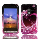For Samsung Conqure 4G D600 Cover Hard Case Love