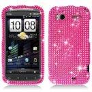For HTC Sensation 4G Cover Hard Case Crystal Bling Pink