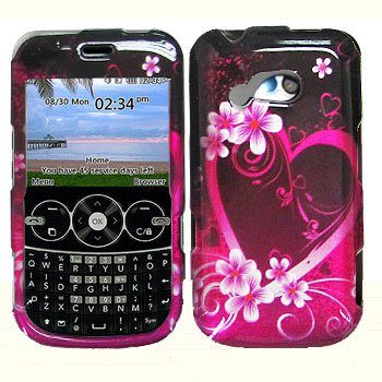 For LG Gossip GW300 / 900g Cover Hard Case Love