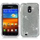 For Samsung Galaxy S II Epic 4G Touch Cover Hard Case Crystal Bling Clear