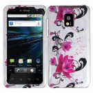 For LG T-Mobile G2x Cover Hard Case W-Flower