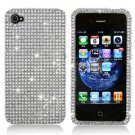 For Apple iphone 4S / 4 Cover Hard Case Crystal Bling Clear