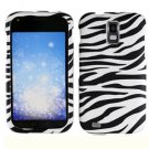 For T-Mobile Samsung Galaxy S II T989 Cover Hard Case Zebra