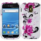 For T-Mobile Samsung Galaxy S II T989 Cover Hard Case W-Flower