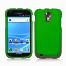 For T-Mobile Samsung Galaxy S II T989 Cover Hard Case Rubberized Green