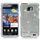 For Samsung Galaxy S II i9100 Cover Hard Case Crystal Bling Clear