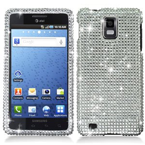For Samsung Galaxy S infuse i997 Cover Hard Case Crystal Bling Clear
