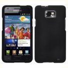 For AT&T Samsung Galaxy S II SGH-i777 Cover Hard Case Rubberized Black