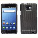 For AT&T Samsung Galaxy S II SGH-i777 Cover Hard Case Carbon Fiber