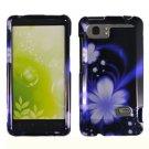 For HTC Vivid / Raider LTE 4G Cover Hard Phone Case B-Flower